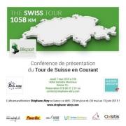 Conférence Tour de Suisse en Courant à Montreux