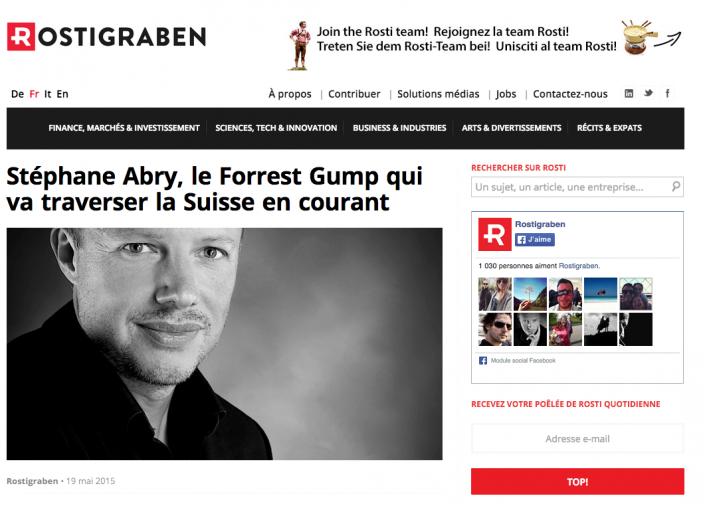 Article Stephane Abry - Rostigraben
