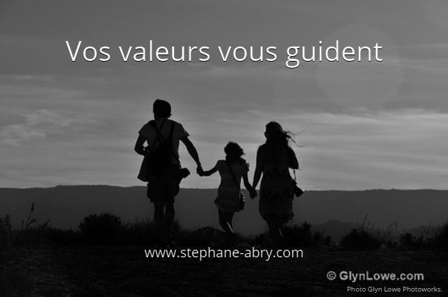 Vos valeurs vous guident