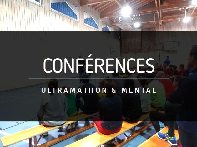 Conférences ultramarathon et mental