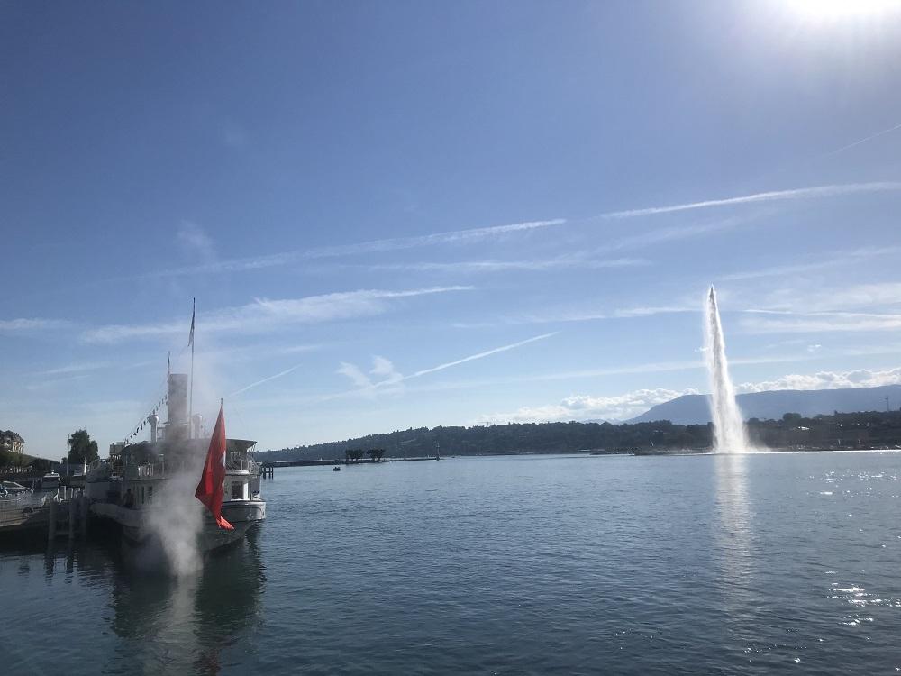 Entraînement 41 km Annemasse Genève