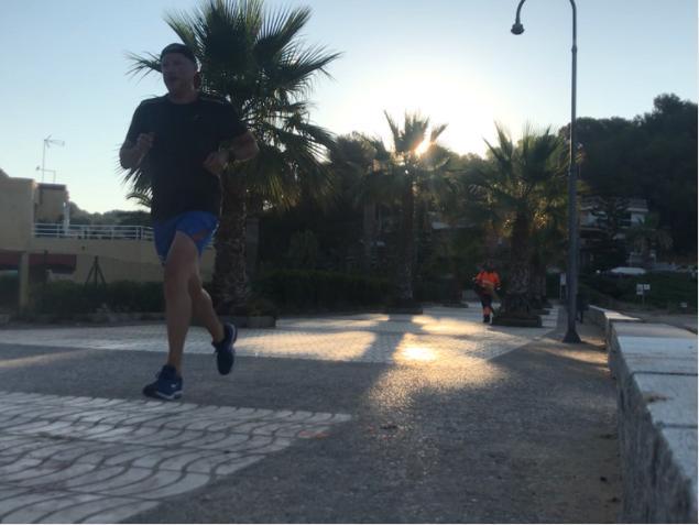 Running à La Mora
